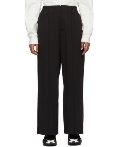 Bezpłatne cięcie czarny klasyczne spodnie z kieszeniami bezpłatne cięcie Y-3