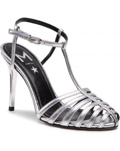Sandały skórzane eleganckie Marella