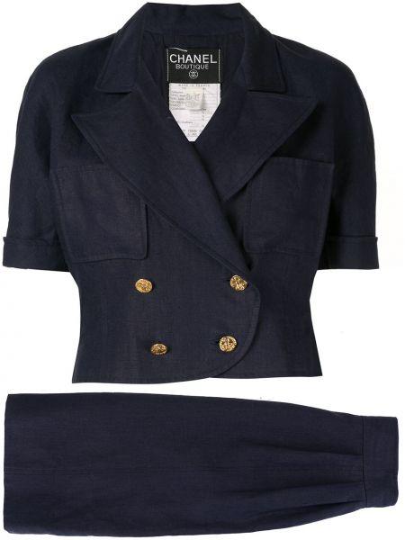 Dom garnitur tweed na wysokości Chanel Pre-owned