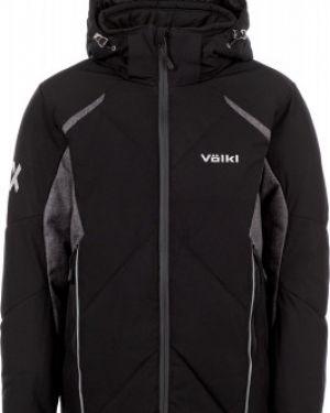 Зимняя куртка черная горнолыжная VÖlkl