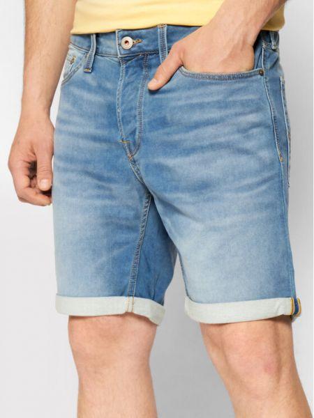 Niebieskie szorty jeansowe Jack&jones
