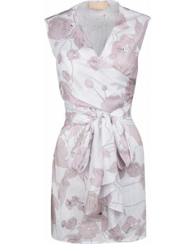 Повседневное платье с поясом с вырезом Ruban
