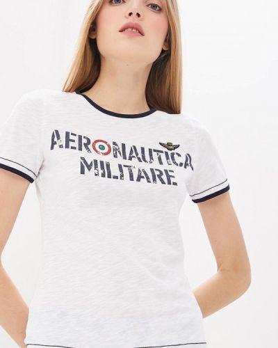 Футболка белая турецкий Aeronautica Militare