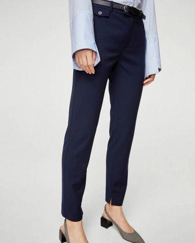 Синие классические брюки Mango