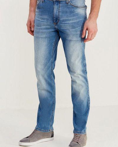 Голубые джинсы-скинни Mustang
