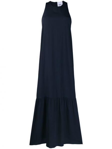 Платье макси с поясом годе Erika Cavallini