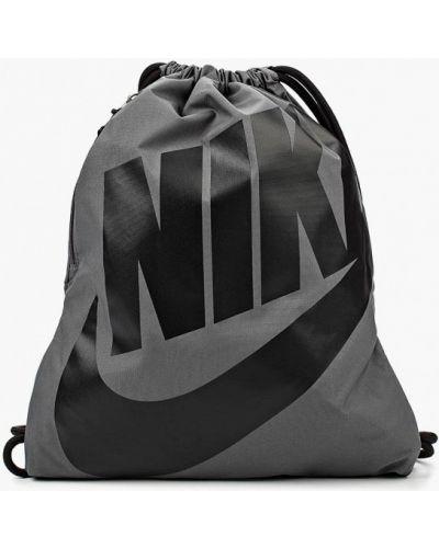 Серый рюкзак рюкзак-мешок Nike
