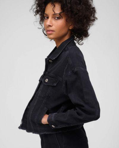 Bawełna szary bawełna kurtka jeansowa Orsay