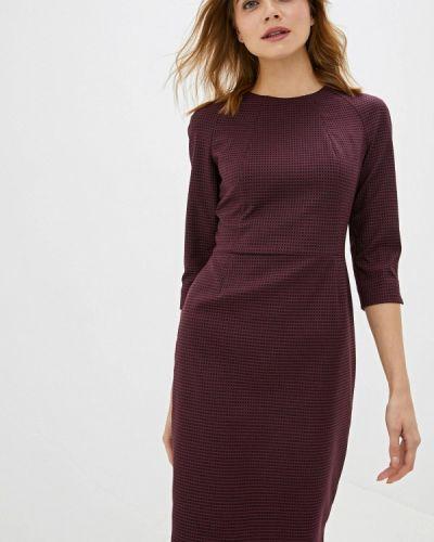 Платье футляр бордовый Vittoria Vicci