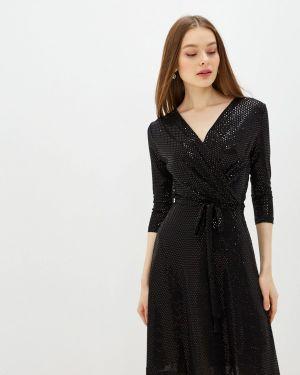 Платье с запахом осеннее Yumi