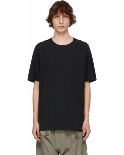 Biały t-shirt krótki rękaw z nylonu Acronym