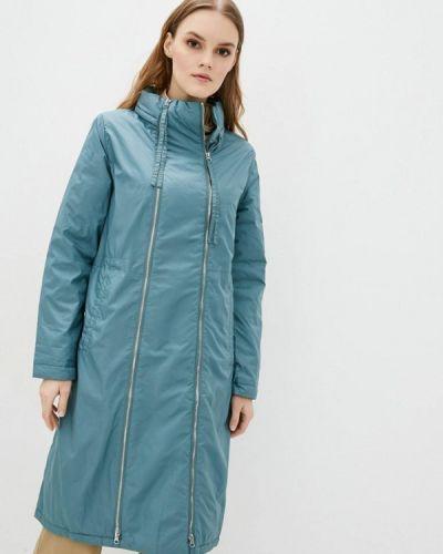 Утепленная куртка - голубая Clasna