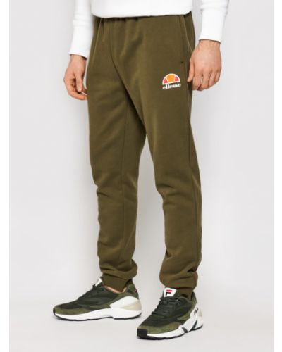 Zielony spodni spodnie do spodni Ellesse