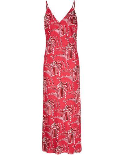 Платье миди платье-комбинация зеленый Lesyanebo