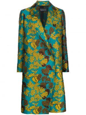 Длинное пальто - синее Gianluca Capannolo