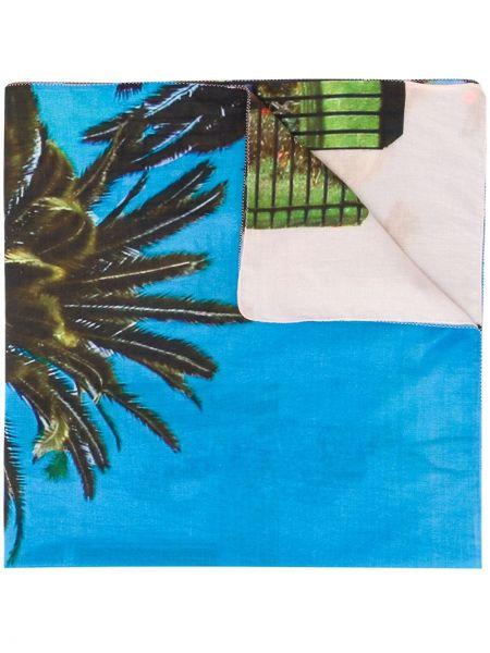 Шелковая синяя накидка Tara Matthews