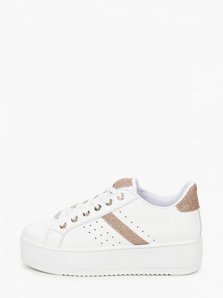 Кроссовки из искусственной кожи белый Diora.rim
