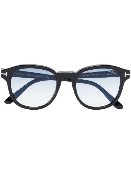 Akryl czarny okulary przeciwsłoneczne Tom Ford