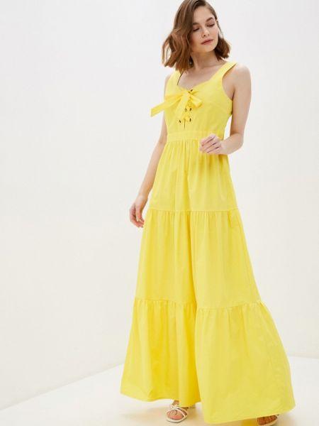 Желтое платье Glamorous