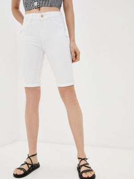 Джинсовые шорты белые Dorothy Perkins