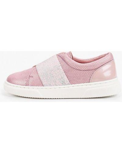 Мокасины розовый кожаные Diverkids