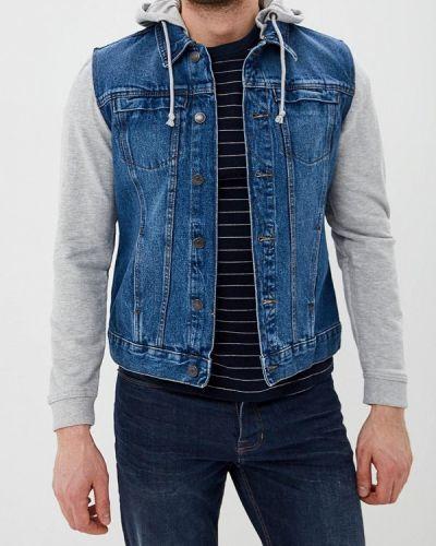 Джинсовая куртка синяя Ovs