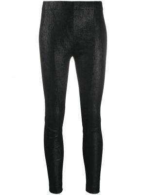 Черные брюки скинни с карманами с декоративной отделкой Gentry Portofino