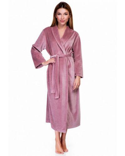 Розовый халат German Volf