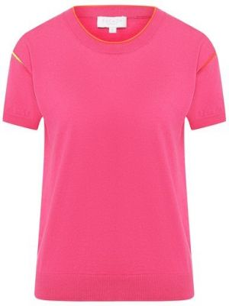 Спортивный топ розовый кашемировый Escada Sport