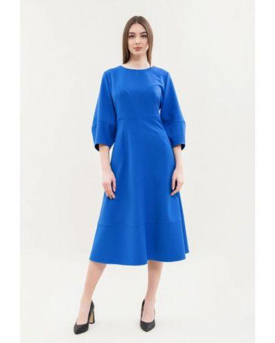 Повседневное платье - синее Maxa