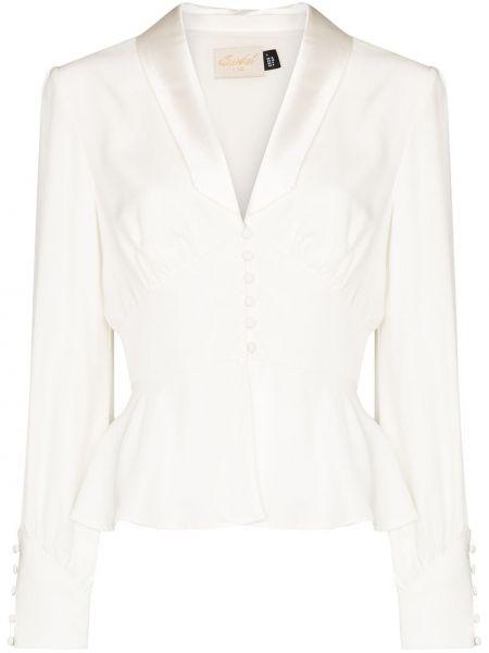 Biała kurtka Rixo