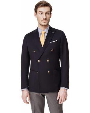 Классический пиджак двубортный прямой Henderson