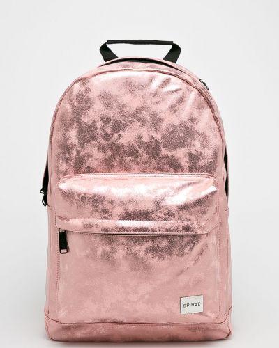 Рюкзак с отделениями золотого цвета Spiral