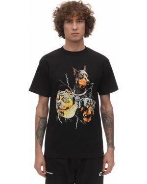 Czarny t-shirt bawełniany Deadnight