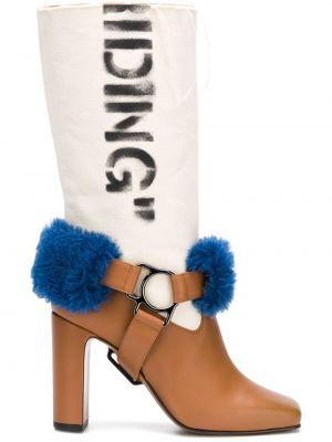 Wysoki buty na obcasie na pięcie Off-white