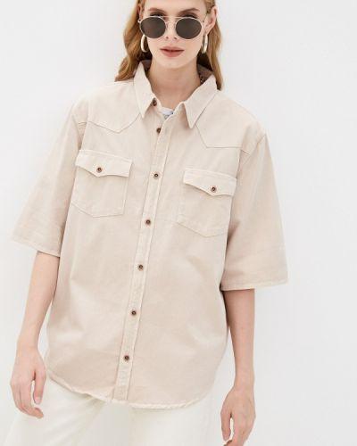 Рубашка с коротким рукавом - бежевая One Teaspoon