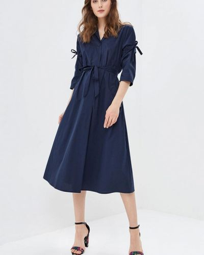 Синее платье весеннее Parole By Victoria Andreyanova