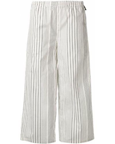Свободные брюки палаццо в полоску Dkny