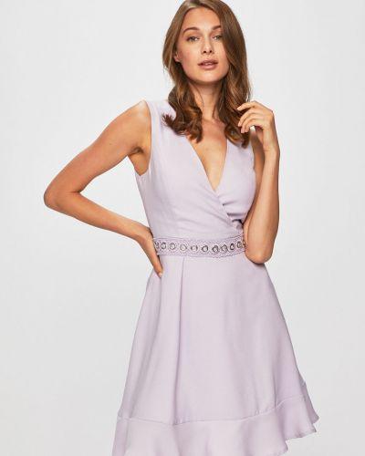 Платье с запахом расклешенное Morgan