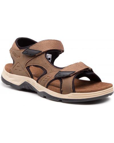 Czarne sandały na lato Hi-tec