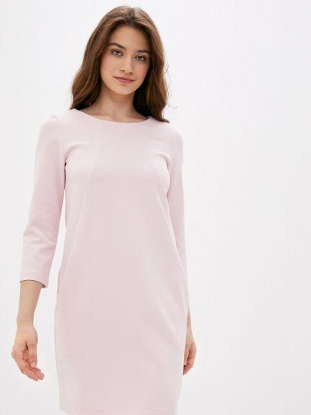 Прямое розовое платье Imago