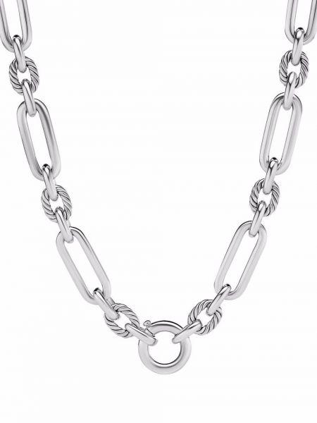 Naszyjnik łańcuch srebrny David Yurman
