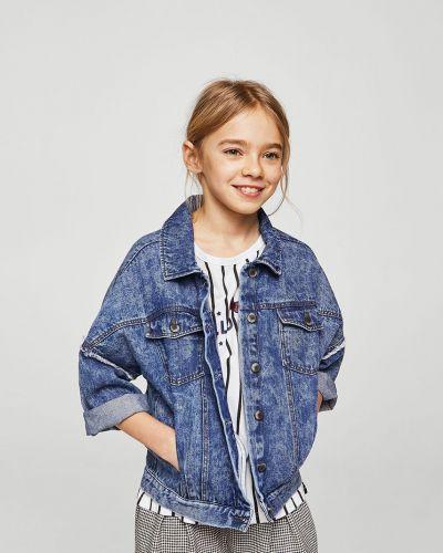 Куртка джинсовая хлопковая Mango Kids