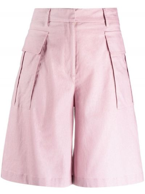 Розовые льняные шорты с карманами Ballantyne