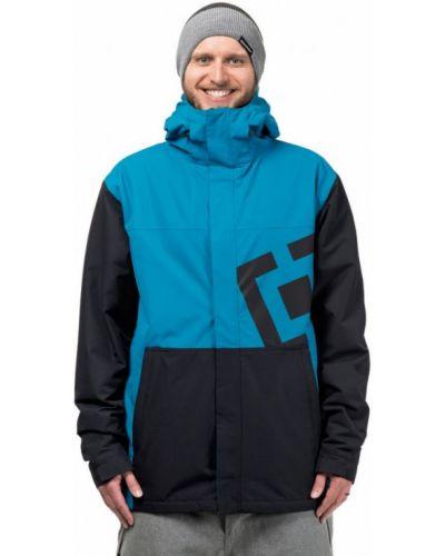 Куртка горнолыжная черная синяя Horsefeathers®