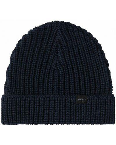 Niebieska czapka beanie Edwin