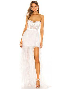 Вечернее платье на молнии с чашками For Love & Lemons