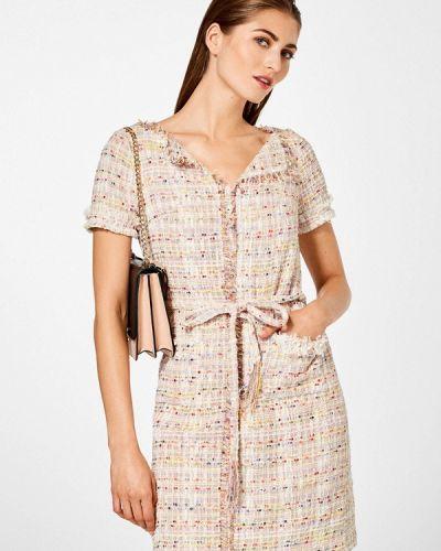 Повседневное платье весеннее розовое Pedro Del Hierro