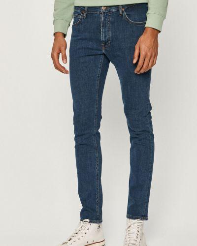 Niebieskie jeansy bawełniane Lee