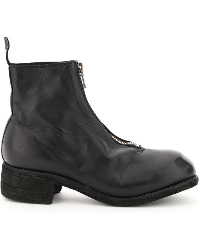 Czarne ankle boots Guidi